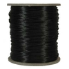 3mm Rattail Satin Cord, Black