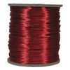 3mm Rattail Satin Cord, Red
