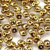 Super Duo Beads 10g - Full Amber Gold